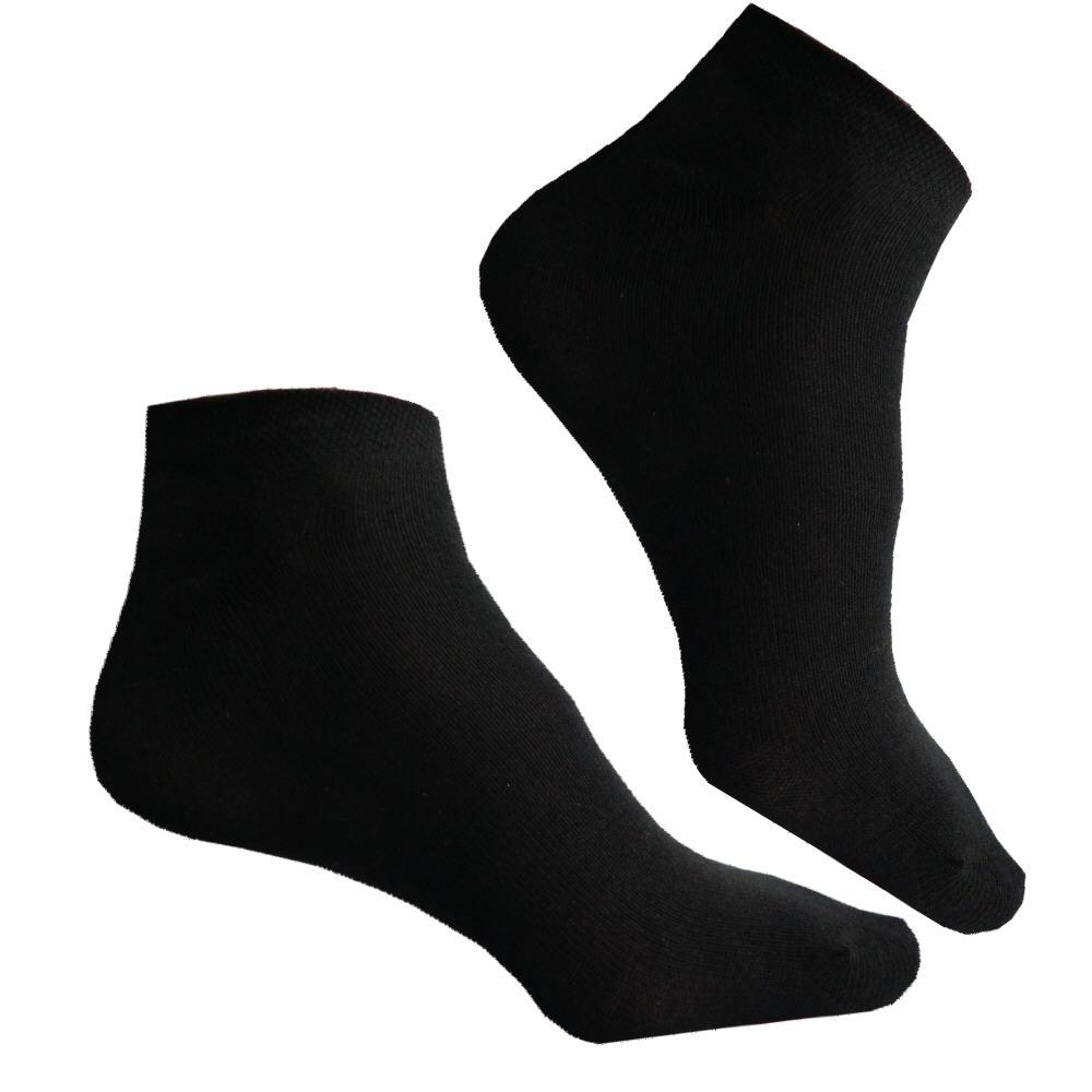 20-Paar-Sneaker-Socken-Sommer-Fuesslinge-schwarz-bequem-strapazierfaehig-Mischfaser